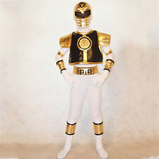 Mighty Morphin Power Rangers costume kids cosplay child Halloween bodysuit S-3XL