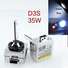 D2S Low Beam D3S 10K Light HID Headlight Replacement Bulb Xenon KIT For Ford PD