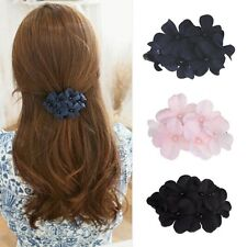 Hot Sale Female Women's Crystal Flower Rhinestone Hair Pin Hairpin Clip Barrette