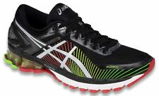 ASICS Men's GEL-Kinsei 6 Running Shoe Black/Silver/Red T642N.9093