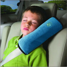 Kids Child Safety Car Seat Belt Pad Strap Shoulder Head Support Pillow Cushion