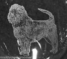 Affenpinscher Dog Laser Etched Glasses- MULTIPLE CHOICE glass styles