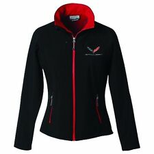 CORVETTE C7 HIS OR HERS JACKETS BLACK/RED TRIM  BUDS CHEVROLET ST MARYS