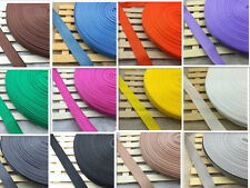 New 50Yards Length 1 Inch (25mm) Width Nylon Webbing Strapping pick 18 color