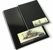 135gsm WIRO HARDCOVER SKETCH PAD 50 SHEETS A4 & A3 ARTIST DRAWING BOOK