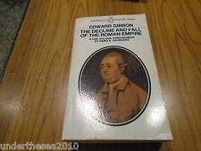 The Decline and Fall of the Roman Empire by Edward Gibbon (Paperback, 1982)