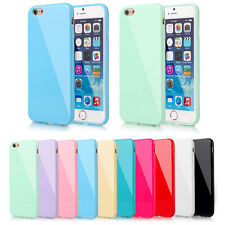 Hot Candy Soft Silicone Rubber Gel Case Cover  For Apple iPhone 5 5S 6 6S Plus