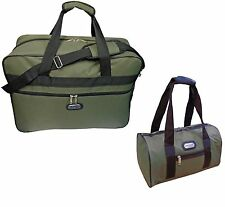 Ryanair approved cabin bag hand luggage 55x40x20cm & additional bag olive green