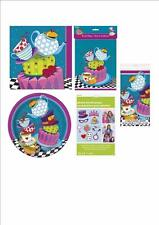 MAD HATTERS TEA PARTY RANGE ALICE IN WONDERLAND TABLEWARE AFTERNOON TEA PARTY