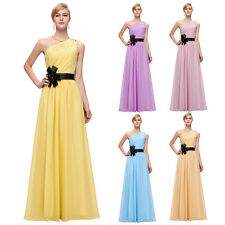 Bridesmaid Prom Homecoming Evening Formal Party Cocktail Ball Gown Wedding Dress