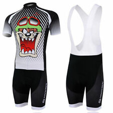 Cartoon Bike Jersey Padded Cycling (Bib) Shorts Bicycle Wear Suit Cycling Kit