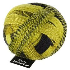 "Schoppel Wolle ""Crazy Zauberball"" Self-Stripe 100g Sock Yarn 75/25 Wool/Nylon"