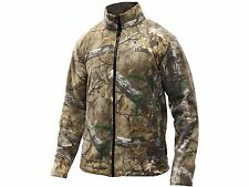 Men's Spike Camp Fleece Jacket Realtree Xtra Camo Hiking Hunting Camping