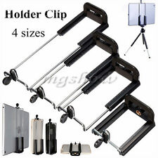For Smart Phone Camera Tablet Stand 1/4 Clip Tripod Holder Bracket Holder Mount