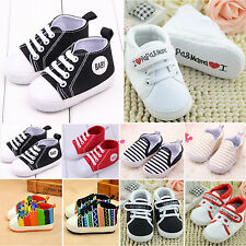 Toddler Baby Boys Girls Casual Soft Sole Crib Shoes Non-slip Sports Prewalkers