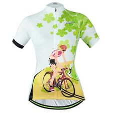 Bike Jersey Women's Cycling Clothing Bicycle Cycle Jersey White Cycling Jacket