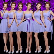 Sexy Party Evening Wedding Bridesmaid Prom Graduation Ball Short Dress Formal &9