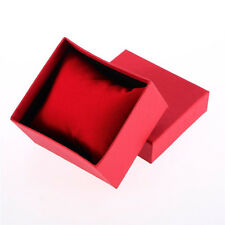One Set Present Gift Boxes Case For Bangle Jewelry Ring Earrings Wrist Watch Box