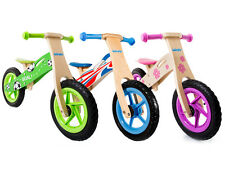 Wooden Balance Bike No Pedal Kids First Running Training Learning Cycle Bicycle