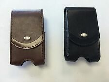 AGF Universal  Leather Pouch with Rotating Belt Clip - Fits Various Models