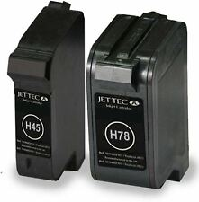 H78 & H45 Black & Colour Remanufactured Ink Cartridges HP45 HP78