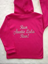 Girls personalised hoody 1-2 years
