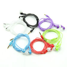 3.5mm Plug In-ear Bass Stereo Earphone Headset For MP3 HTC Phone Tablet PC