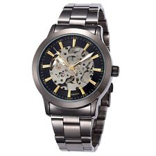 Watches Mechanical Waterproof Fashion Casual Wristwatches Men Leather ShenHua
