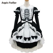 NEW Lolita Princess Dress Sweet Maid Outfit Cosplay Costumes Dovetail Dress