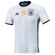 Adidas EURO 2016 Germany Home Soccer Jersey Training DFB Shirts White AI5014