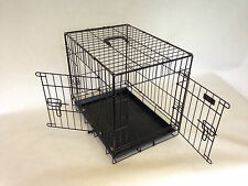 robust Two Door Dog Cage dog crate by Doghealth