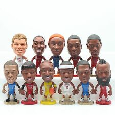 "A set 11 NBA Championship Basketball Super Star Doll 3"" Figures LBJ James Curry"