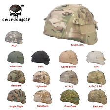Tactical Hunting Airsoft EMERSON Camo Helmet Cover for MICH TC-2000 ACH Helmet