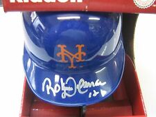 AUTOGRAPHED ROBERTO ALOMAR W/#12  NEW YORK METS MINI HELMET HALL OF FAMER