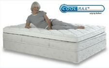 NEW KING CoolMax Premium Memory Foam Mattress Pad with Quilted Cover 76 X 80