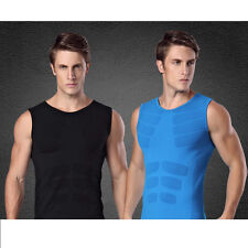 NEW MA10 Men Sports Compression Thermal Base Layer Sleeveless Shirts Tights Vest