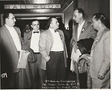 PA STATE COUNCIL C.I.O. Pittsburgh 1956 14th ANNUAL CONVENTION Vintage PHOTO