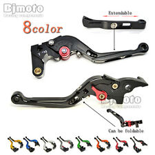 Motorcycle CNC Aluminum Extendable Clutch Brake Lever For Yamaha YZF R1 15-16