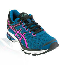 Asics - GT 1000 V4 GTX Running Shoe - Mosaic Blue/Hot Pink/Black