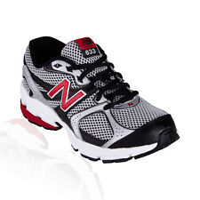 New Balance - 633 Kids Running Course - Silver/Black/Red