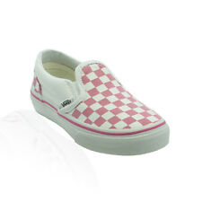 Vans - Classic Slip On (Youth) - Aurora Pink/True White Checkerboard