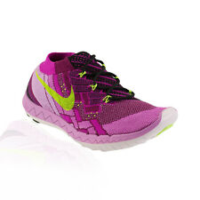Nike - Free 3.0 Flyknit Running Shoe - Raspberry Red/Fuchsia Flash/Black/Flash L