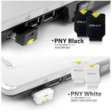 PNY Micro SD SDHC TF Card Reader Phone Baby, USB Adapter Black/White brand new