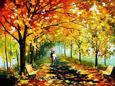 Home Decor Painting Canvas Knife Painting Street Art Wall Free shipping