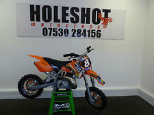 KTM sx senior adventure kids motocross bike clean example