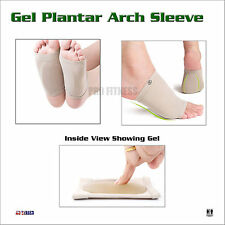 Foot Arch Support Sleeve Flat Feet Orthotics Cushion Plantar Fasciitis Socks