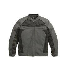 HARLEY-DAVIDSON - MENS TEXTILE & MESH WATERPROOF MOTORBIKE JACKET - SUMMER LIGHT