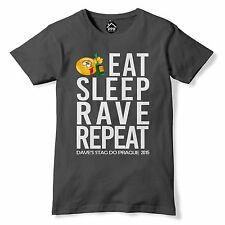 STAG HEN T SHIRT Eat Sleep Rave Repeat DESTINATION + NAME Stag Lads Holiday 46