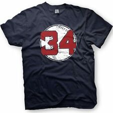 David Ortiz - Big Papi -Boston Red Sox - Number 34 T-Shirt  - Retirement