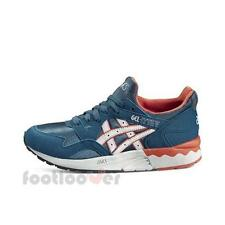 Shoes Asics Gel Lyte V GS c541n 4510 kid's running Blue Soft Gray